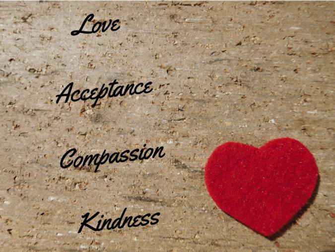 LoveAcceptanceCompassionKindness
