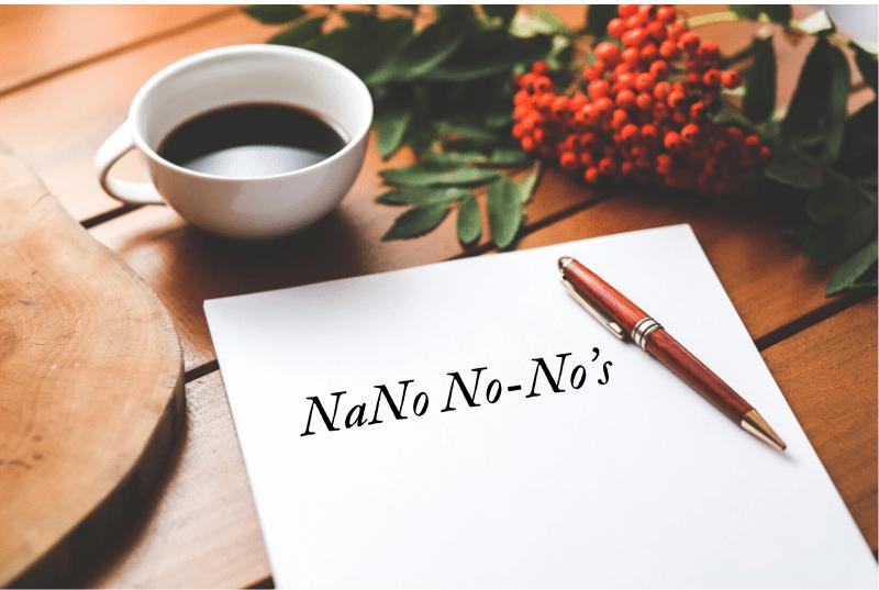 NaNo No-No's