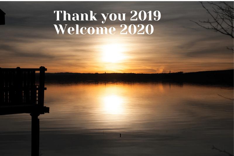 Thank you 2019 Hello 2020